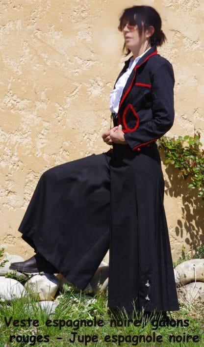 jupe d'equitation espagnole