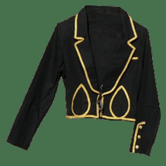 Veste equitation spectacle noire