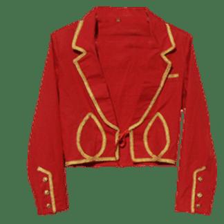 veste equitation spectacle rouge