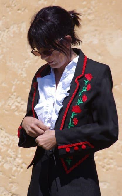 veste espagnole d'equitation traditionnelle
