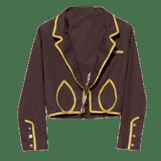 Veste d'équitation espagnole marron