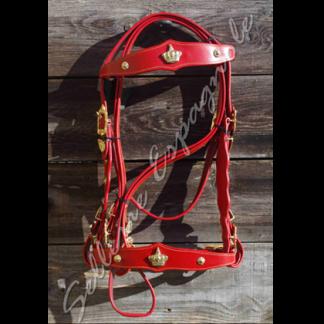 bridon baroque couronne rouge