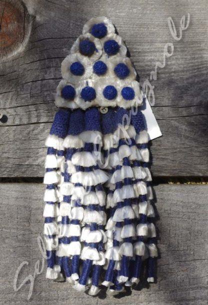 mosquero soie bleu
